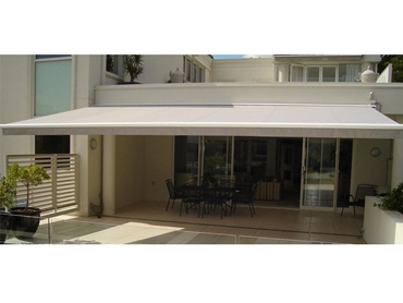 Retractable Folding Arm Awnings by Ozsun Shade Systems