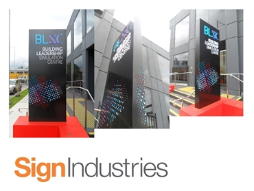 Pylon and Building Signage from Sign Industries