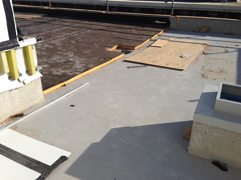 Concrete waterproofing systems architecture and design