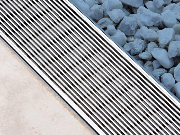 Architectural stormwater grates and drains from Stormtech