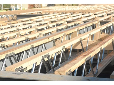economical and lightweight floor and rafter truss systems