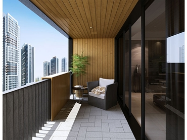 Innowood Composite Timber Balcony Solution Architecture