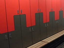 Space Saving Optimus Lockers