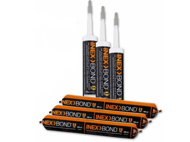 INEX>BOND, a professional grade sealant suitable for commercial and residential applications