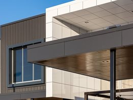 Vitradual: DtS, BCA compliant, non-combustible cassette cladding