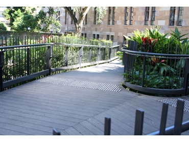Wood Grain and Groove Decking from Ultra Design Composites