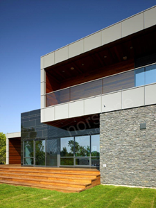 Norstone Charcoal Rock Panels Niagara