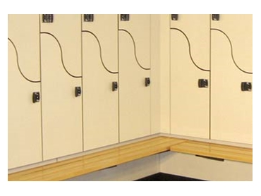 Innovative Space Saving Locker Room Design