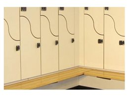 Innovative EVOLVE Range Lockers from Excel Lockers
