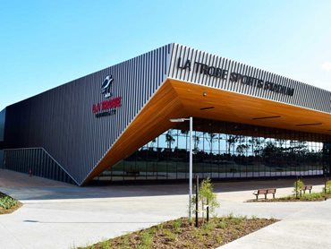 ASKIN Roofing and Exteriors was specified for La Trobe's Sports Park