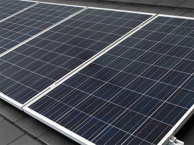 Detailed product image of solar panel
