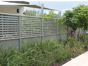 COLORBOND-Steel-and-Aluminium-Slatting fence Superior Screens