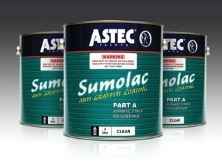 Sumolac Anti-Graffiti Coating from Astec Paints Australasia