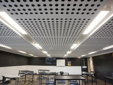 DECORLUX perforated fibre cement