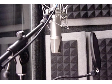 Cheops® panels for effective use in recording and broadcast studios