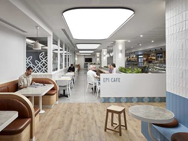 Epi Café; Category: Non-Residential Design: Alterations/Additions; Architects: Sync Design; Photo Credit: Jack Lovel
