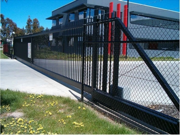 Pedestrian and Vehicle Control Access Equipment from Magnetic Automation l jpg