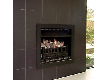 Stainless Steel Open Front Fireplaces from Real Flame l jpg