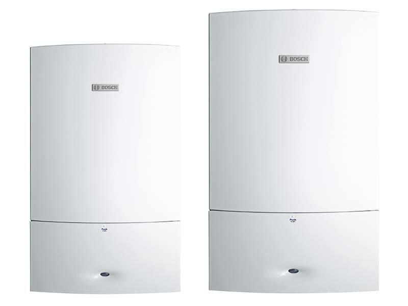 Bosch hydronic heating boilers