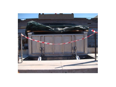 Automatic Flood Barriers from Blobel
