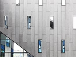 Cembrit through colour fibre cement façades: Solutions for the future of non-combustible claddings