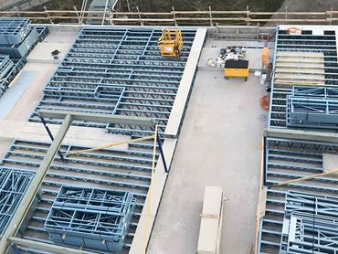 SBS' prefabricated steel frames saved the builder about 4-6 weeks on normal build time