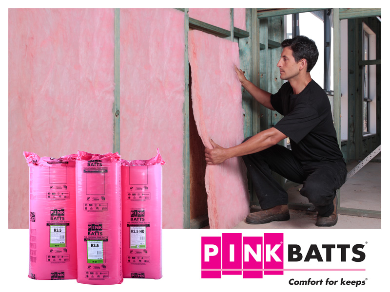 Pink Batts® from Fletcher Insulation