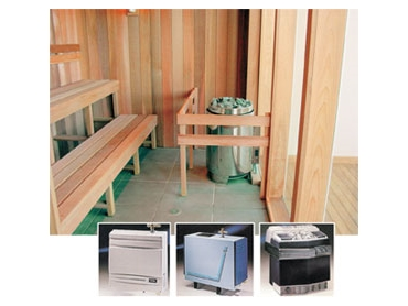Custom Made Saunas and Steam Rooms from Viking Sauna