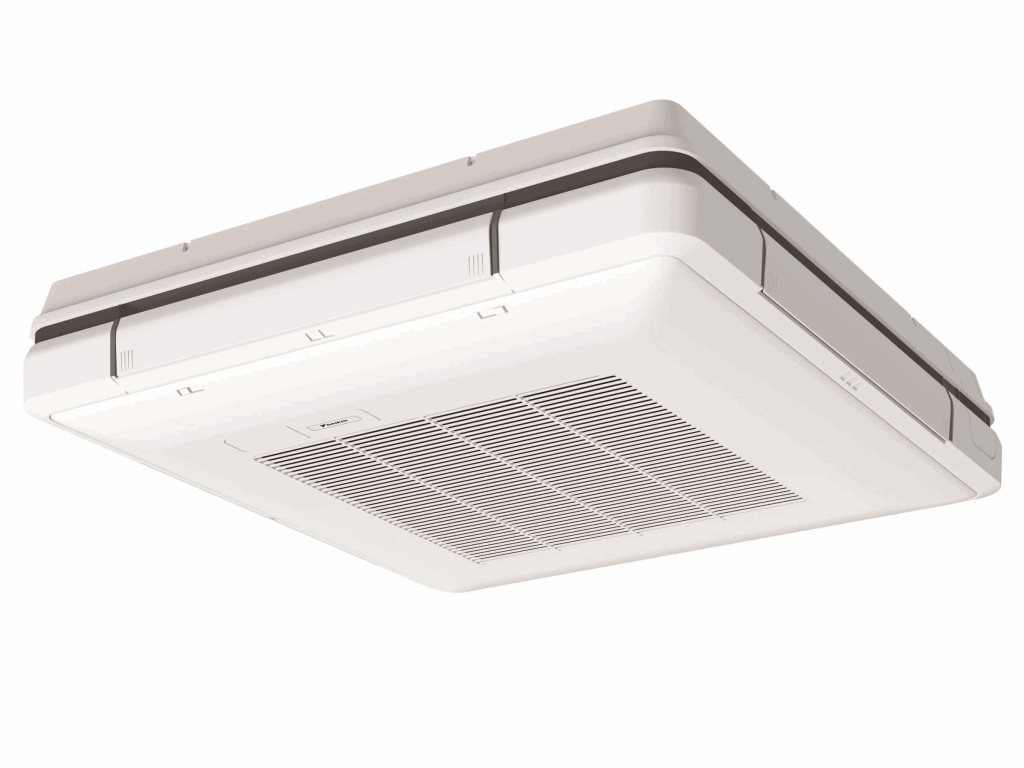 White ixl tastic neo single bathroom 3 in 1 heater exhaust and led - Daikin Vrv Ceiling Suspended Cassette