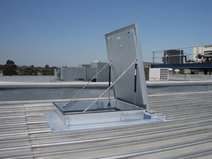 Roof Access Hatches by AM-BOSS Access Ladders Pty Ltd