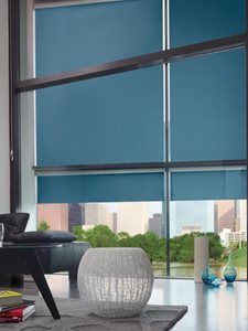 Verosol Motorised Blinds Residential Living Room Interior
