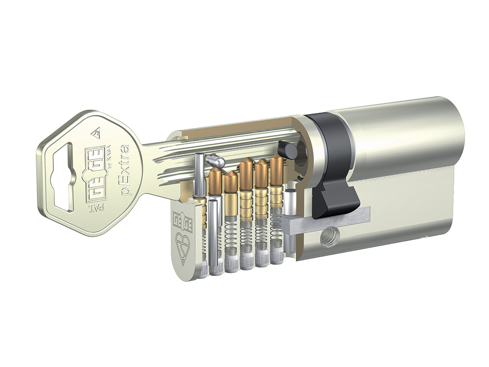 Dormakaba Mechanical Key System Detailed Pin Cylinder