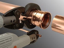 Press-fit technology that delivers quality copper installations for water, gas, oil and compressed air