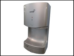 Verde Mini compact hand dryer