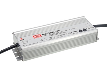 Mean Well HLG-320H Constant Voltage IP67 LED Driver with built-in dimming