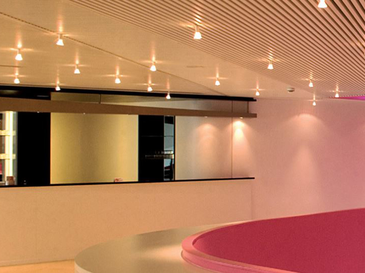 Series 50 Linear ceiling panels
