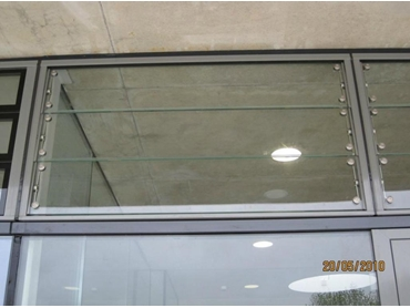 Single Glazed Frameless Glass Louvres from Winco Systems
