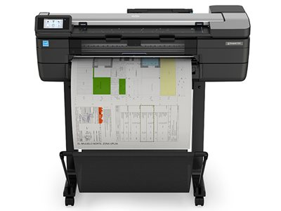 HP DesignJet T830 24in Front Plotter