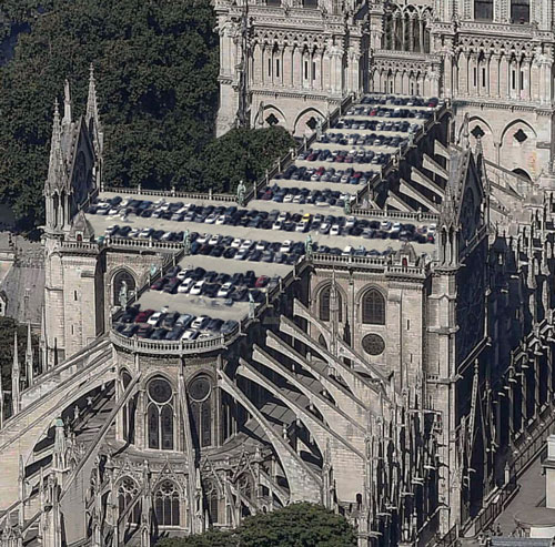 Shocking Redesign Proposals For Notre Dame Architecture