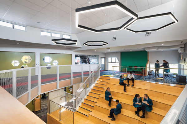 Good News Lutheran College flexible spaces