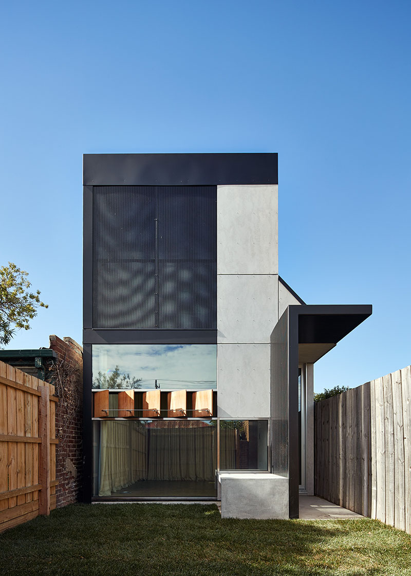 A dark horse within a neighbourhood of workers 39 cottages for Architecture and design