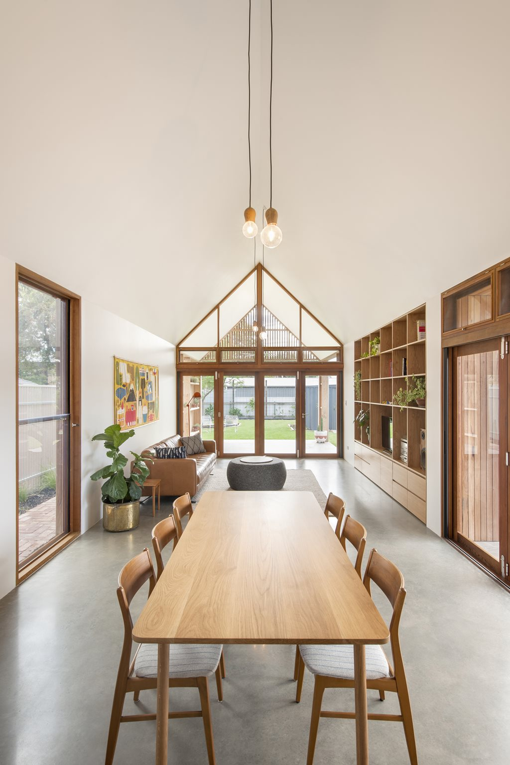 Residential Interior Project Has Modern Yet Vintage Take: Adelaide Home Extension Explores Vernacular For Modern Day