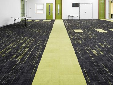Mantric selected Verve+ carpet tiles from Signature Floors as they provide 100% Green Star points