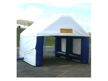 Inflatable shelters  for all conditions from Giant Inflatables