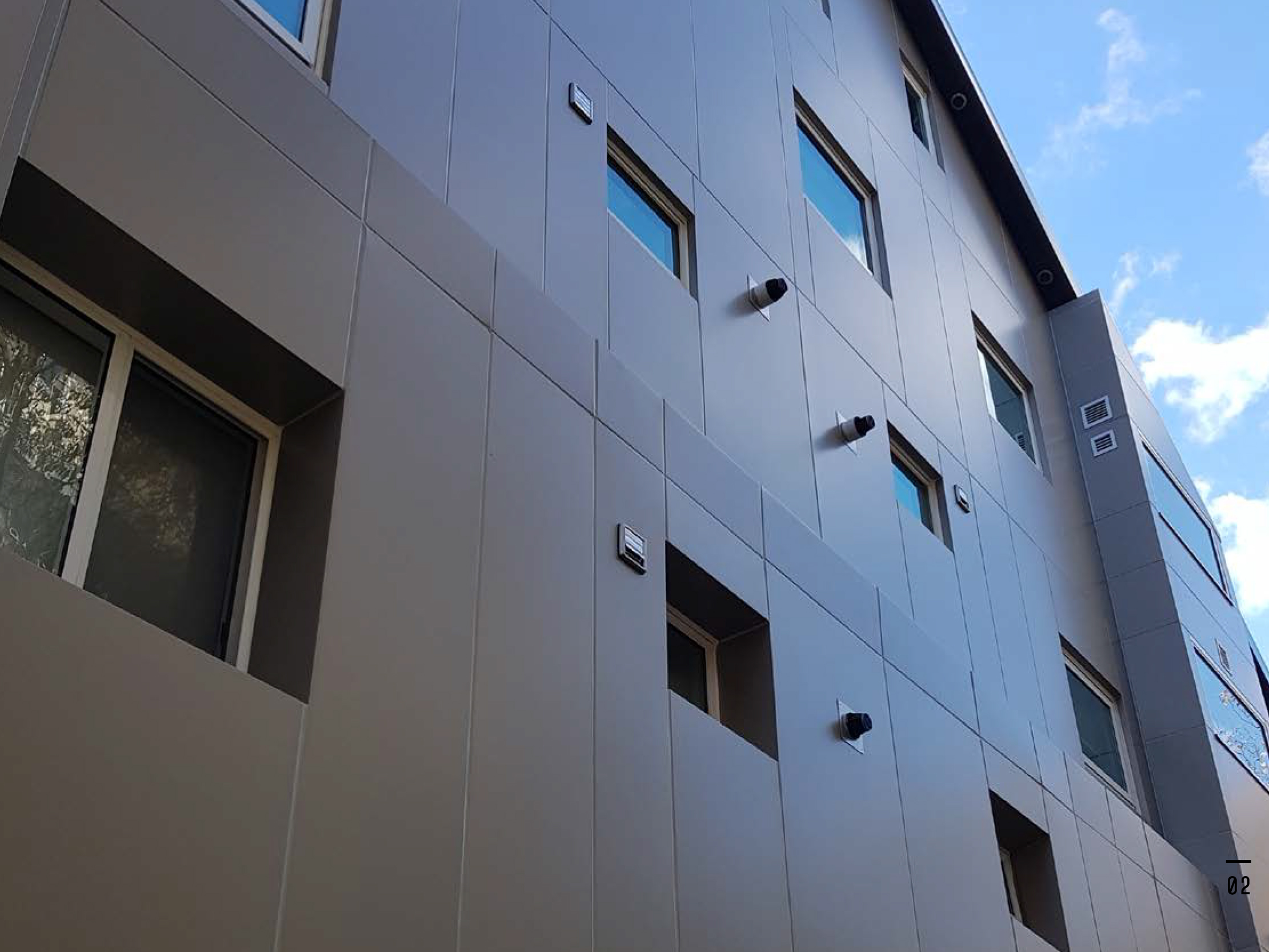 Vitrashield: Australia's first fully compliant AS5113 cladding system