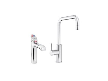 Zip HydroTap Boiling and Chilled Classic and Cube Mixer in Bright Chrome