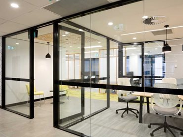 Bris Aluminium's partitioning systems can be matched to any design vision or style.