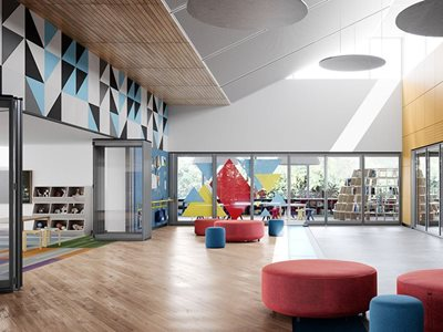Optica Primary School Glazed Operable Walls