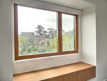 Add large windows to get the best natural light
