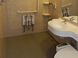 PUDA aged care facility bathroom solutions